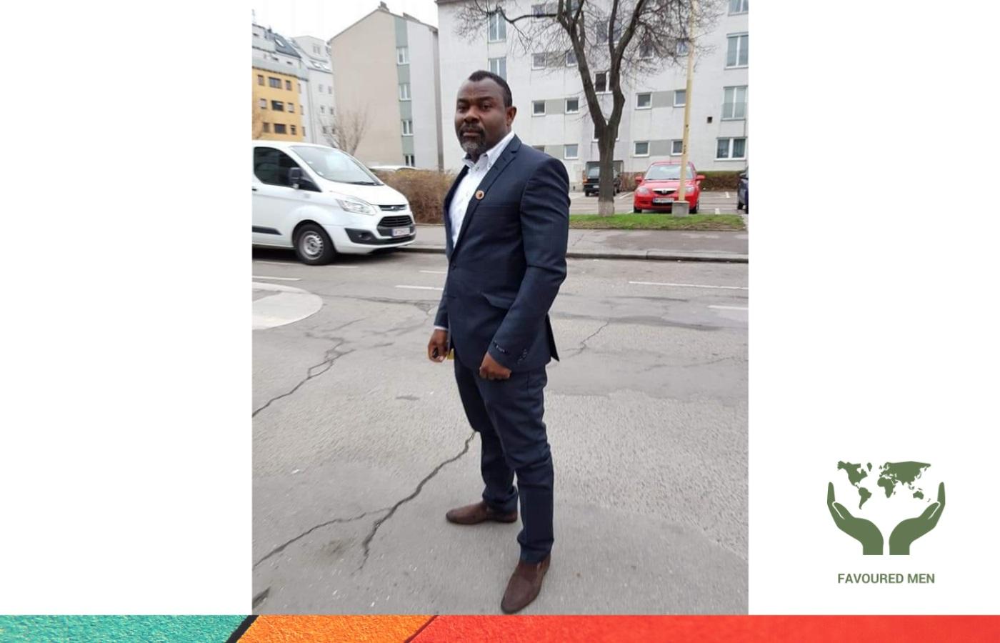 About Favoured Men ngo website NGO Afrika (Favoured Men) NGO österreich (Favoured Men) Ewaen Etinosa